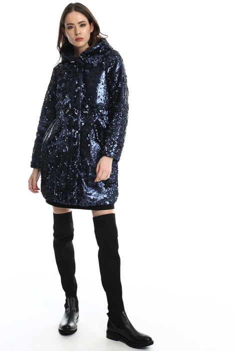 Sequin parka  Intrend