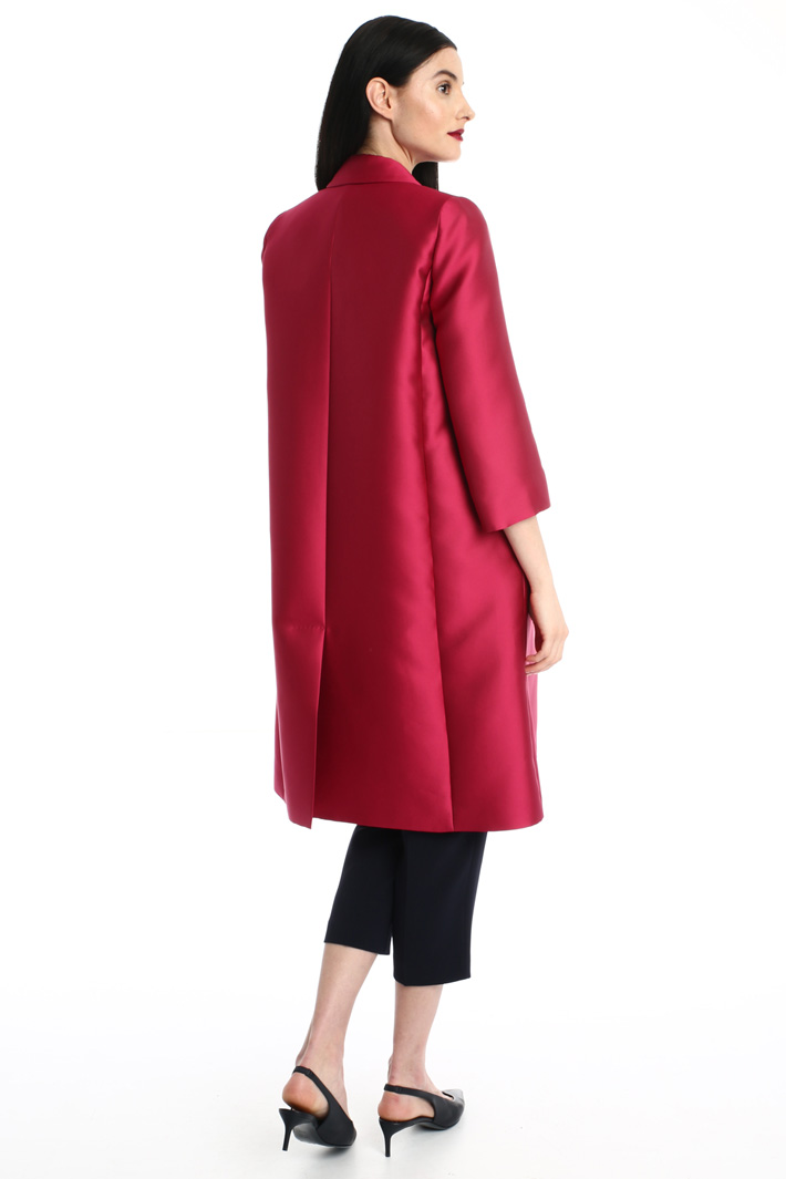Duchess silk duster coat Intrend