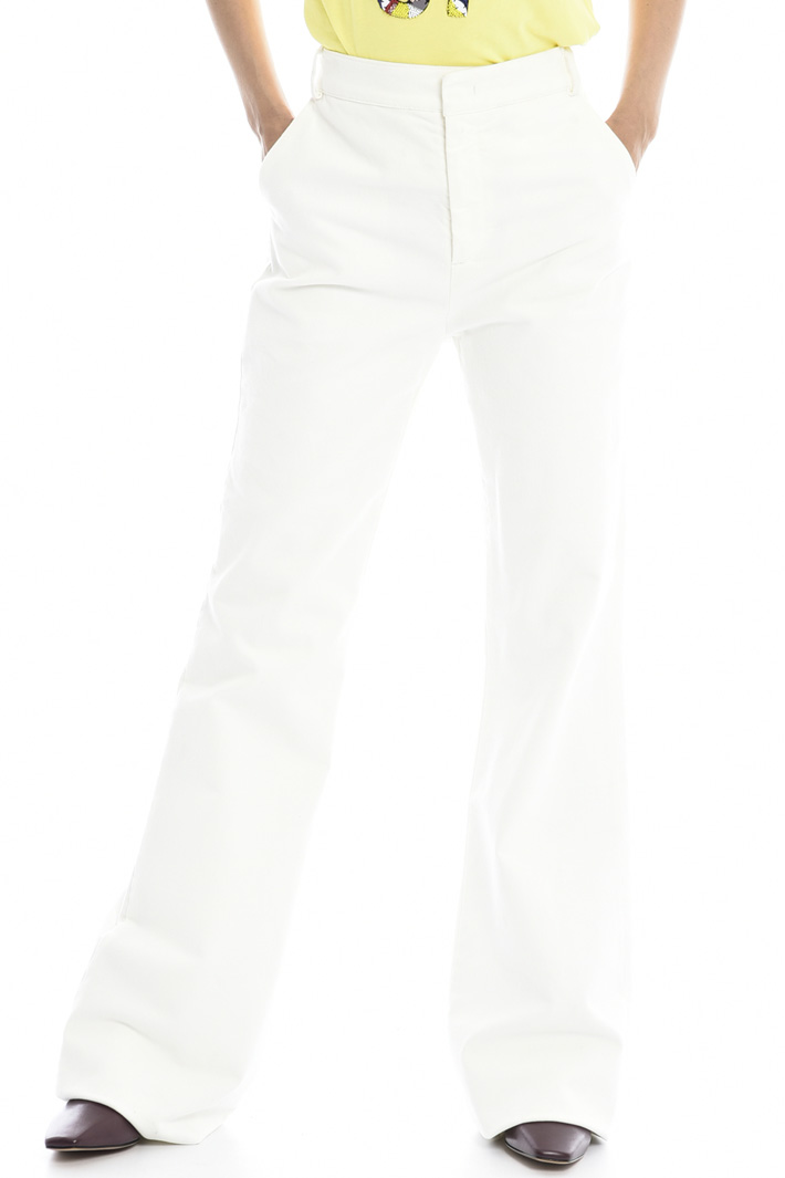 Bootcut fustian trousers Intrend