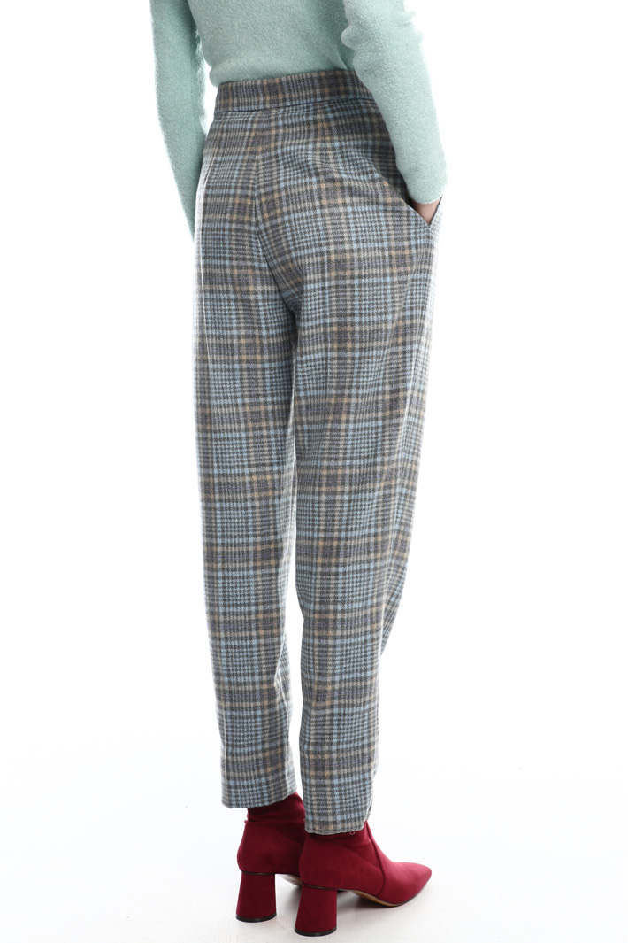 Wool flannel trousers Intrend