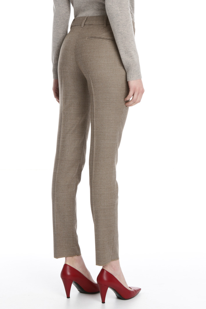 Wool flannell  trousers Intrend
