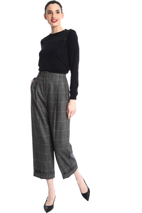 Wool and viscose trousers Intrend