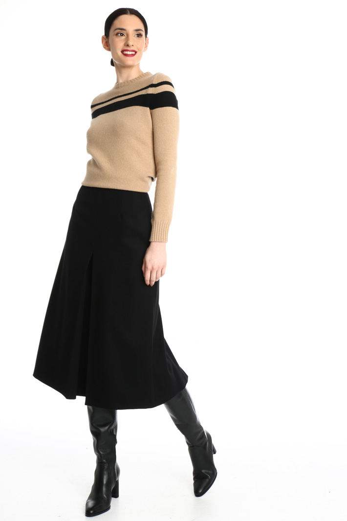 Wool divided skirt Intrend
