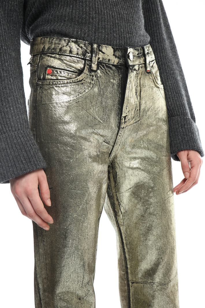 Laminated jeans Intrend