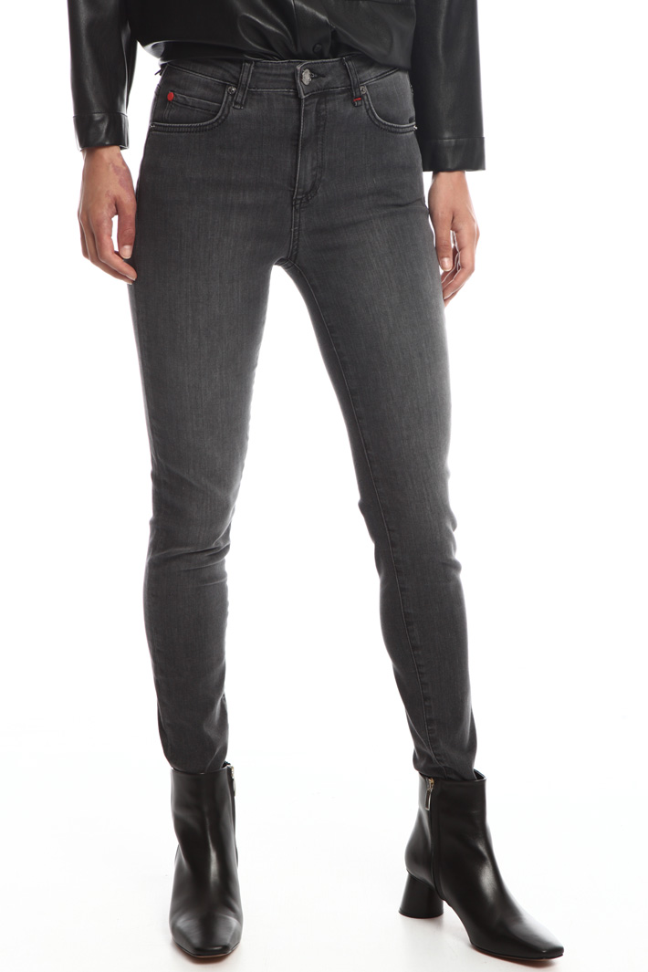 High-waisted skinny jeans Intrend