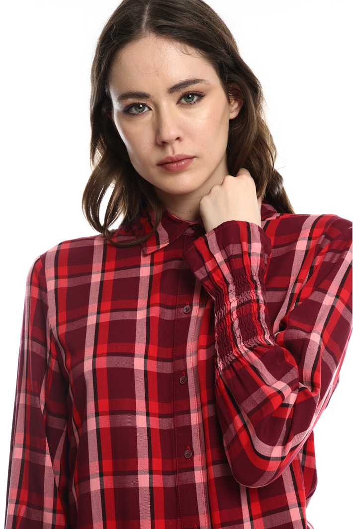 Check flannel shirt   Intrend