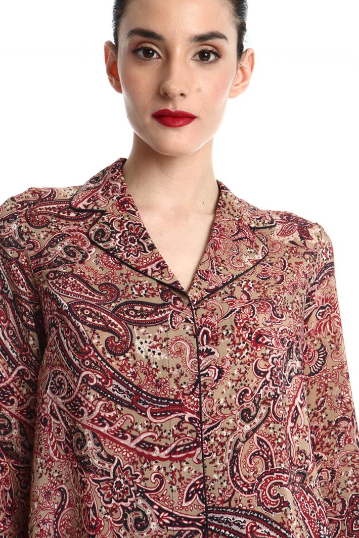 Silk crepe de chine blouse Intrend