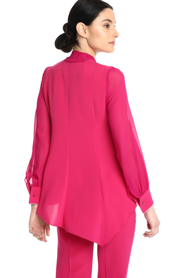 Silk and cady blouse Intrend