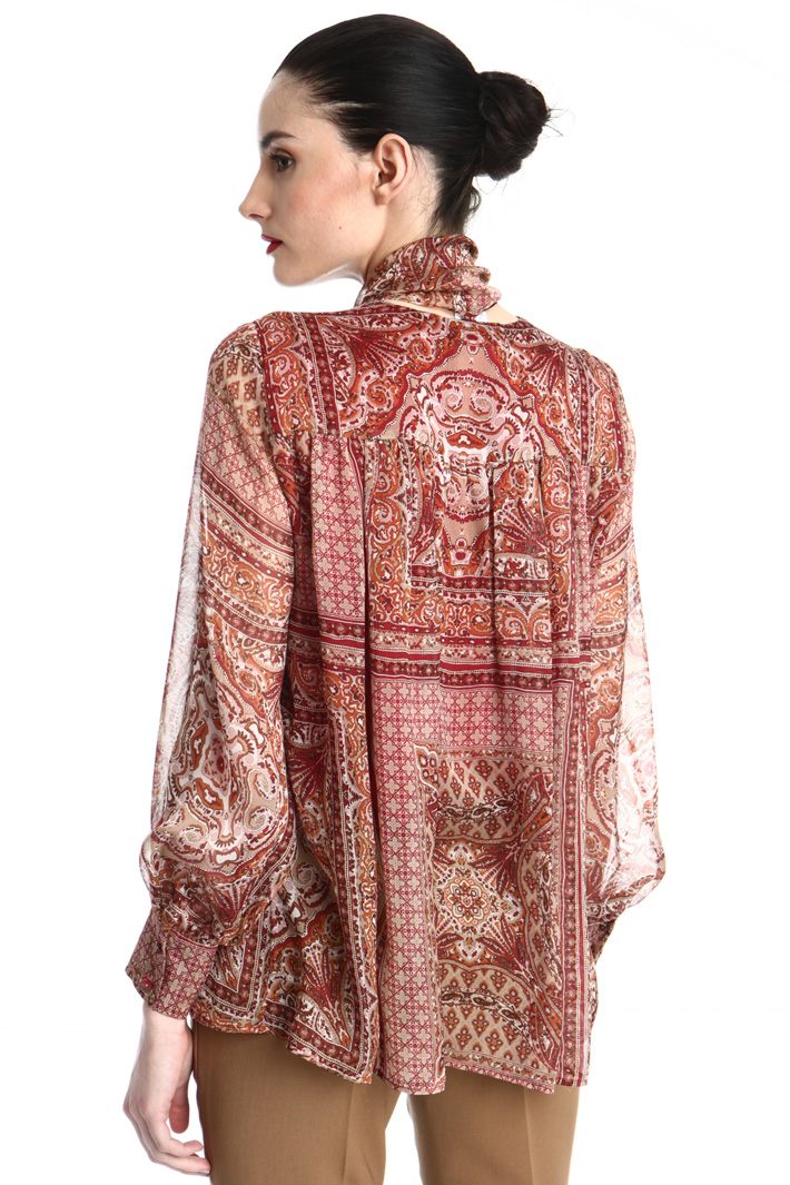 Silk chiffon blouse Intrend