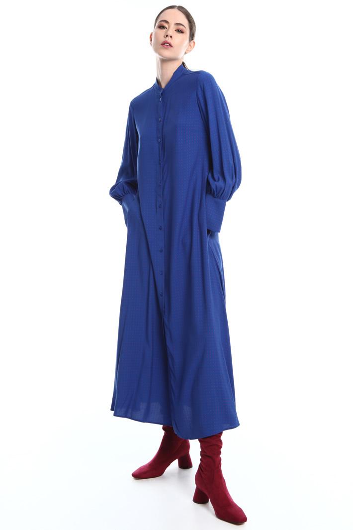 Fluid chemisier dress  Intrend