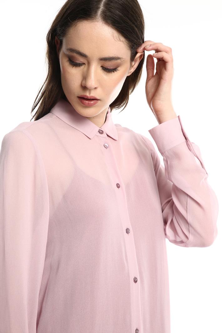 Georgette shirt dress Intrend