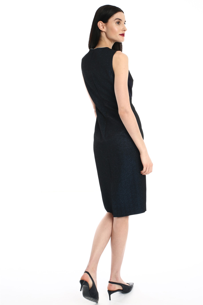 Matelasse viscose dress Intrend