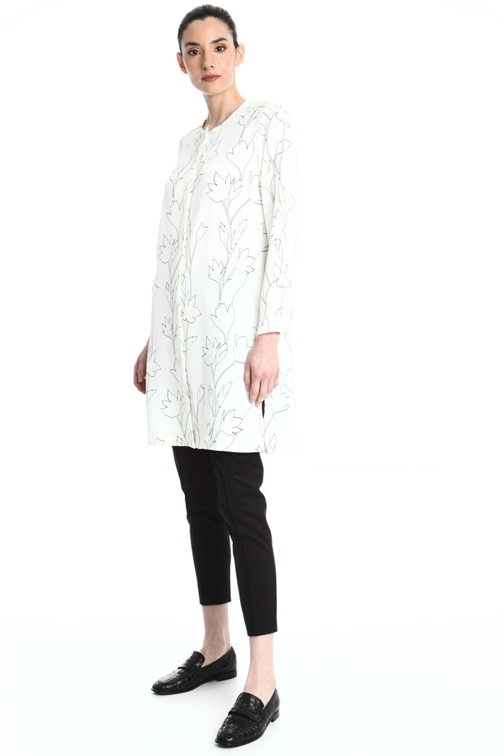 Printed cady tunic Intrend