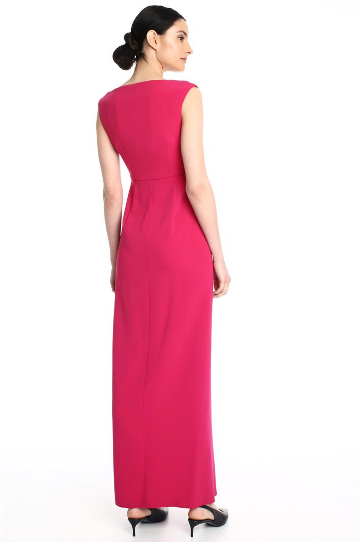 Flounced cady dress Intrend