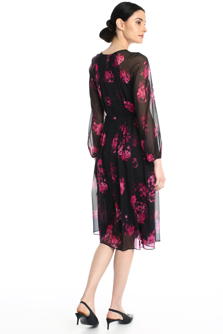 Silk georgette dress Intrend