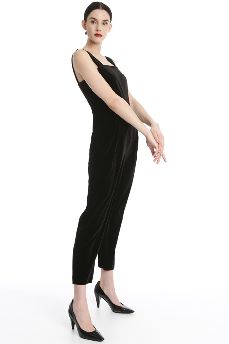 Velvet jumpsuit Intrend