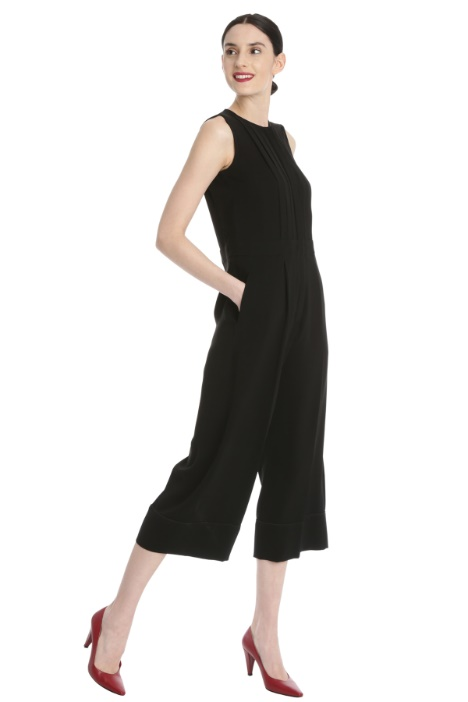 Pleated cady jumpsuit Intrend