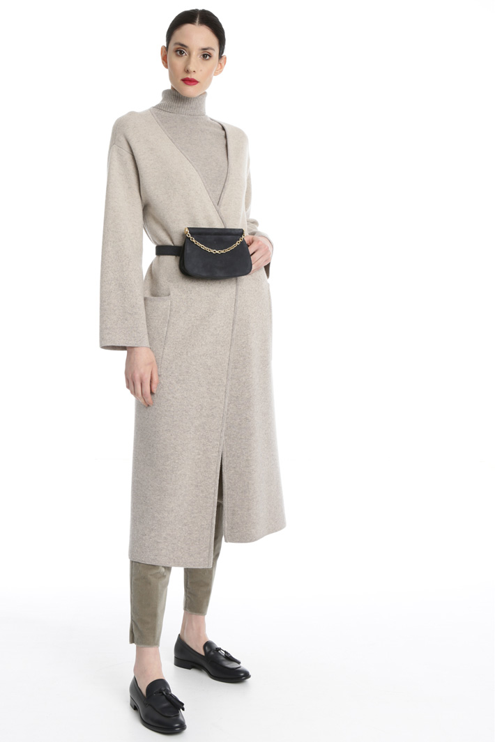 Knitted overcoat Intrend
