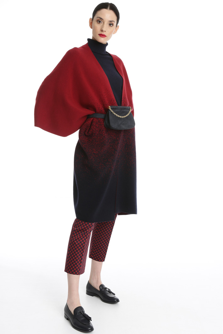 Wool cape Intrend