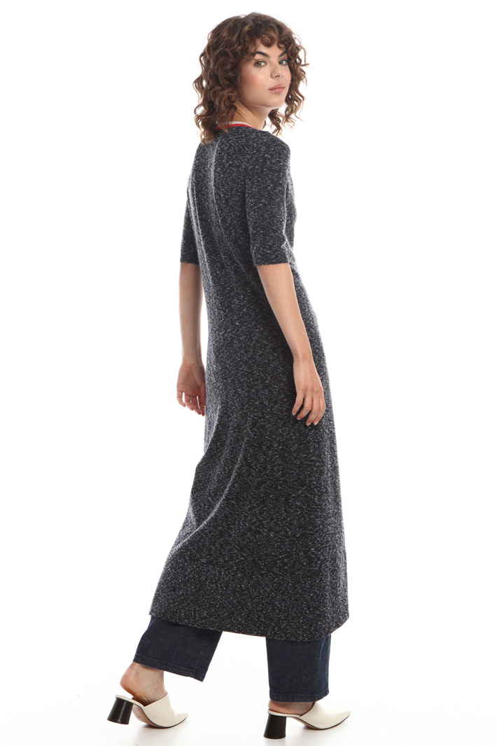 Knitted maxi shirt dress  Intrend
