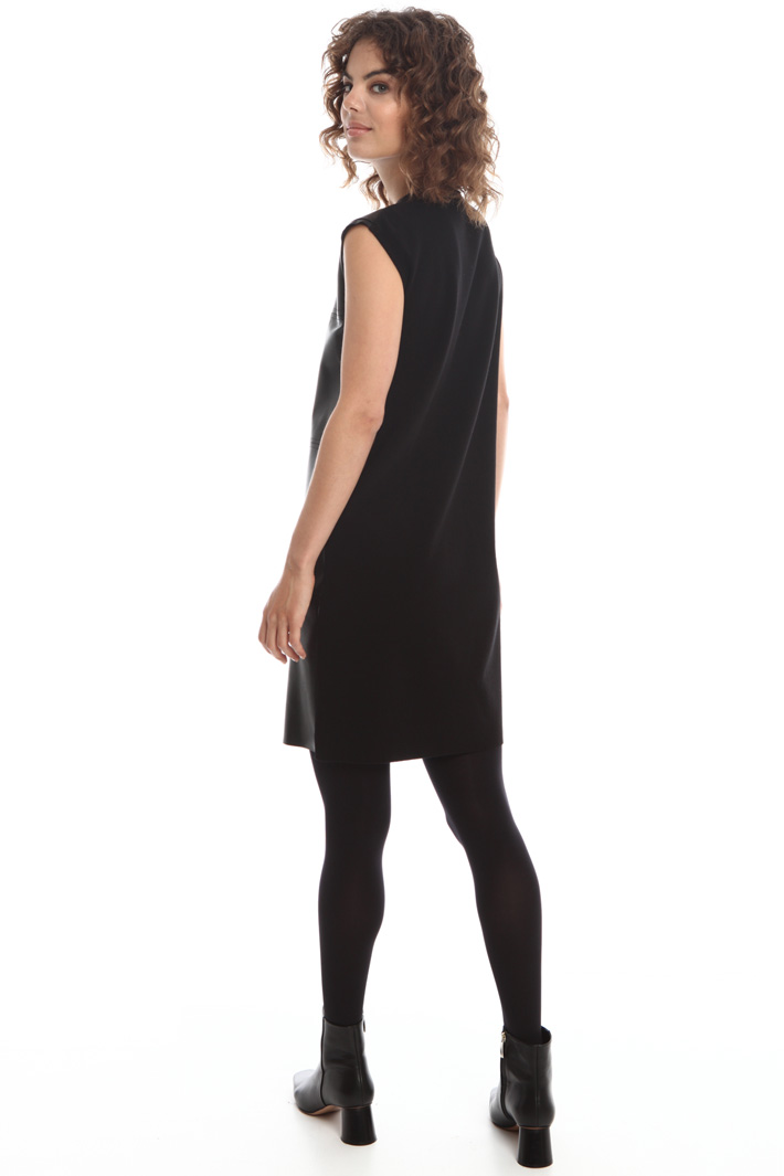 Leather dress  Intrend