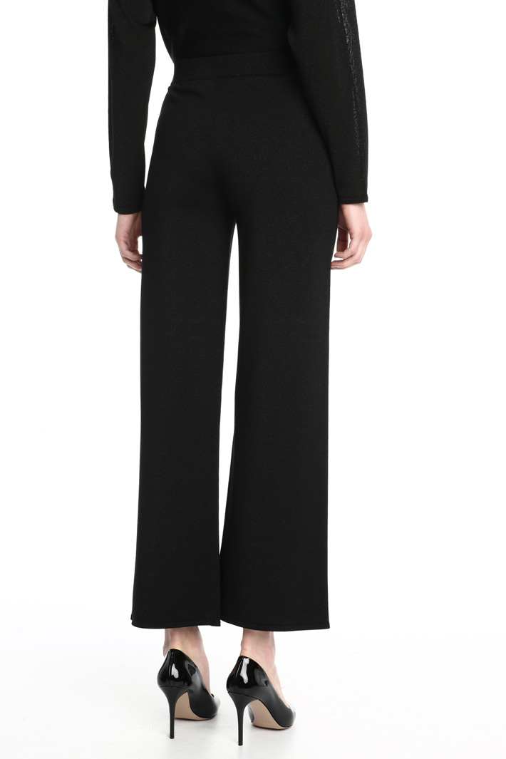 Viscose knit trousers Intrend