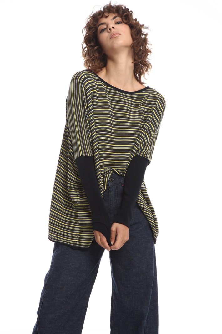 Oversized striped sweater  Intrend