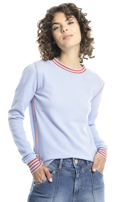 Two tone sweater Intrend