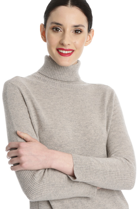 Wool and cashmere turtleneck Intrend