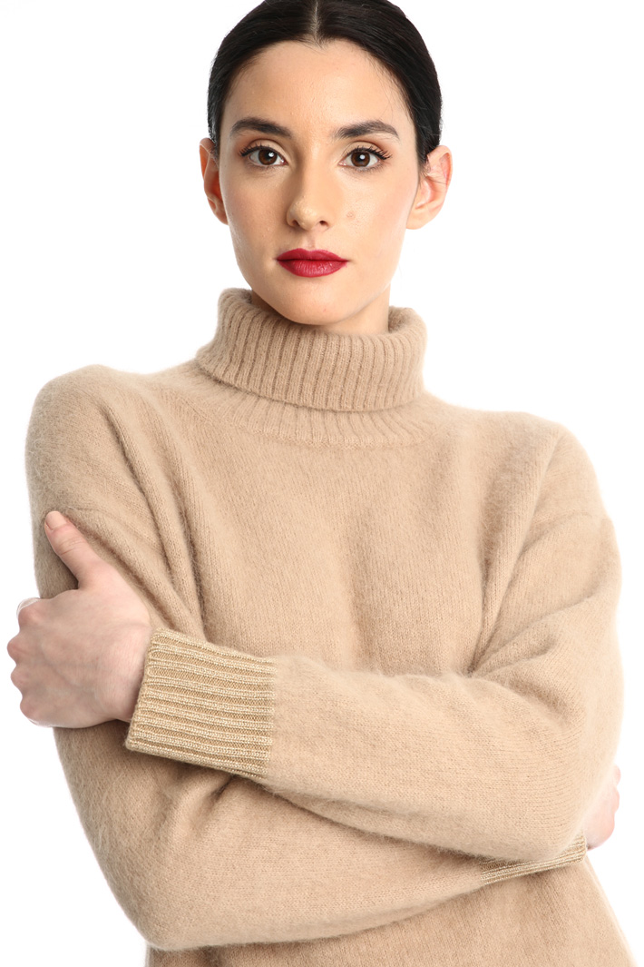 Brushed turtleneck sweater Intrend
