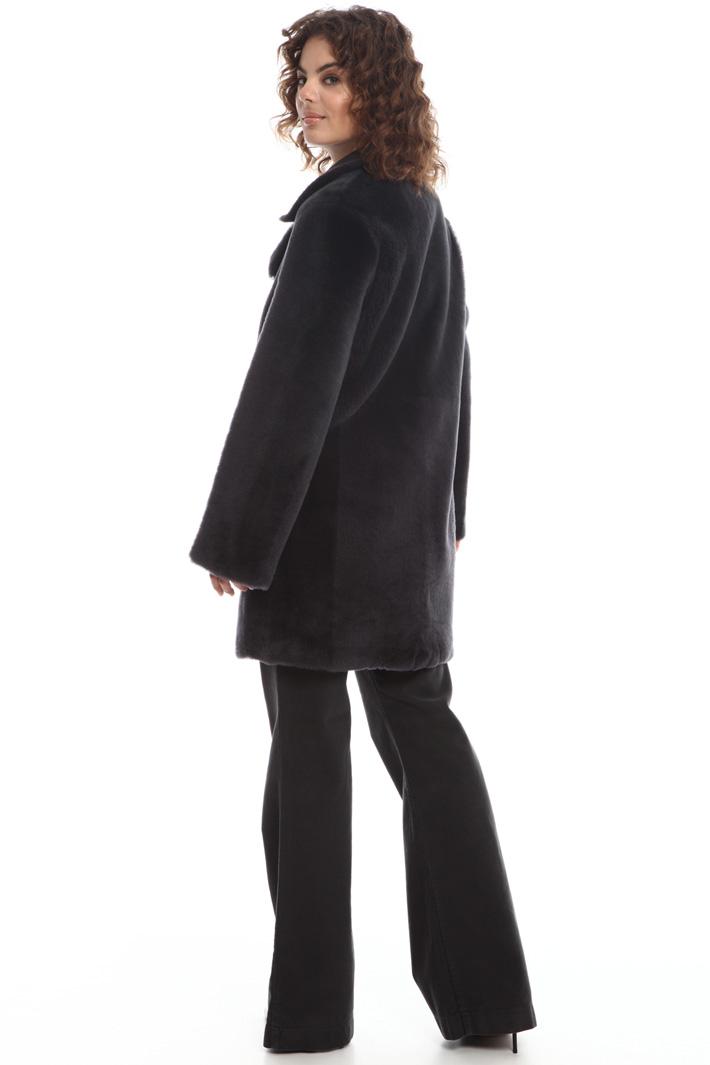 Shearling coat Intrend