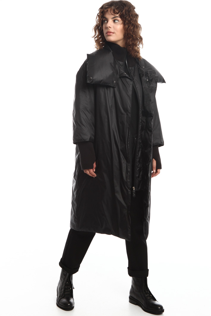 Layered effect padded jacket Intrend