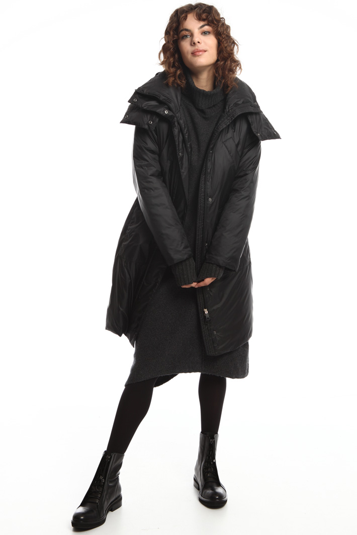 Padded parka with hood Intrend