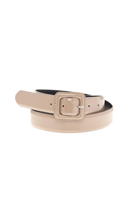 Varnished effect belt Intrend