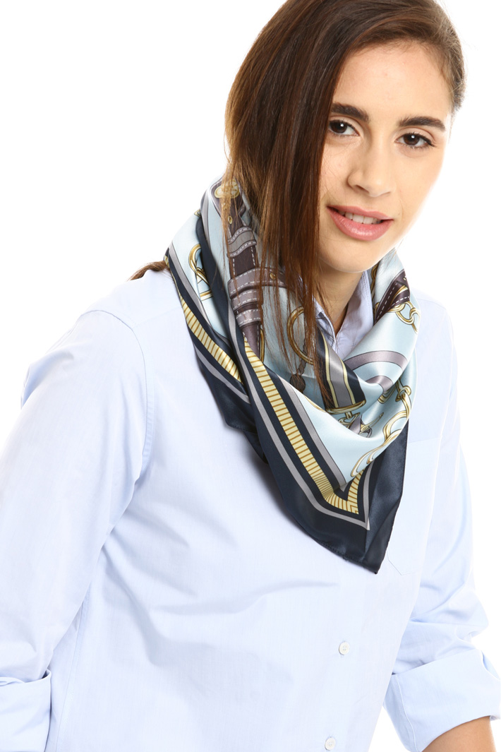 Patterned foulard Intrend