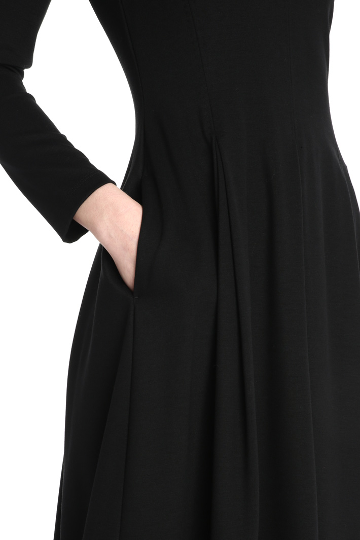 Long sleeve jersey dress Intrend