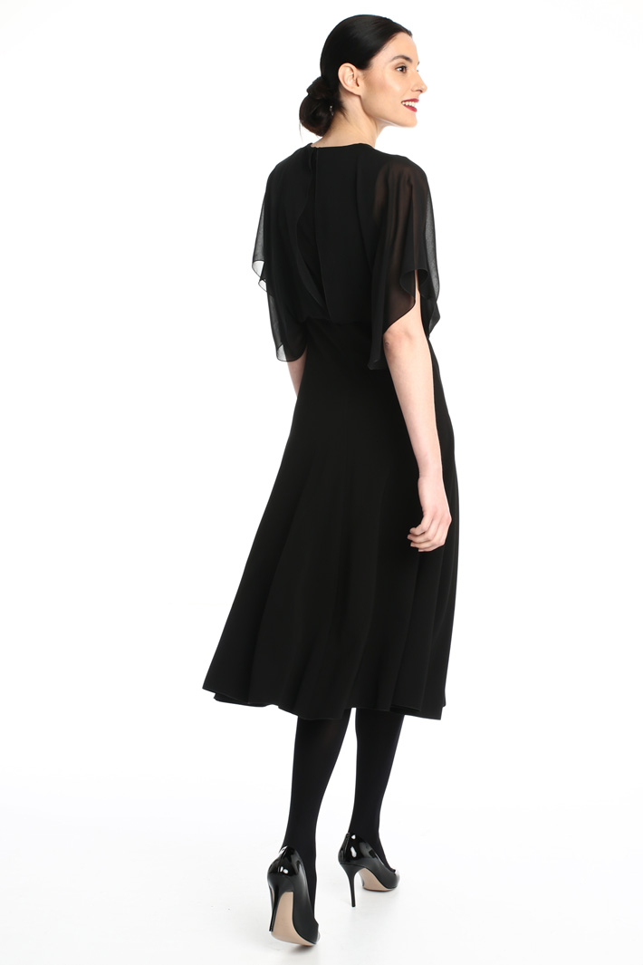 Silk and jersey dress Intrend
