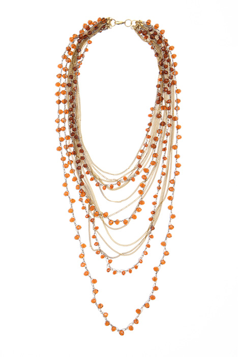 Multi-strand necklace. Intrend