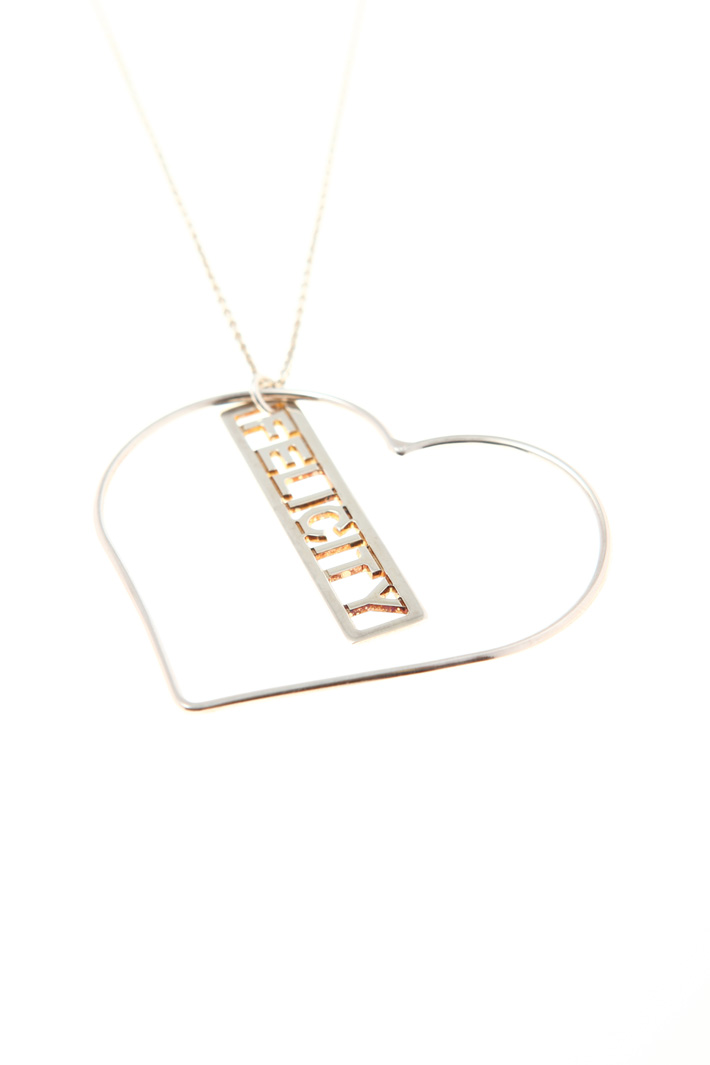 Necklace with heart charm Intrend