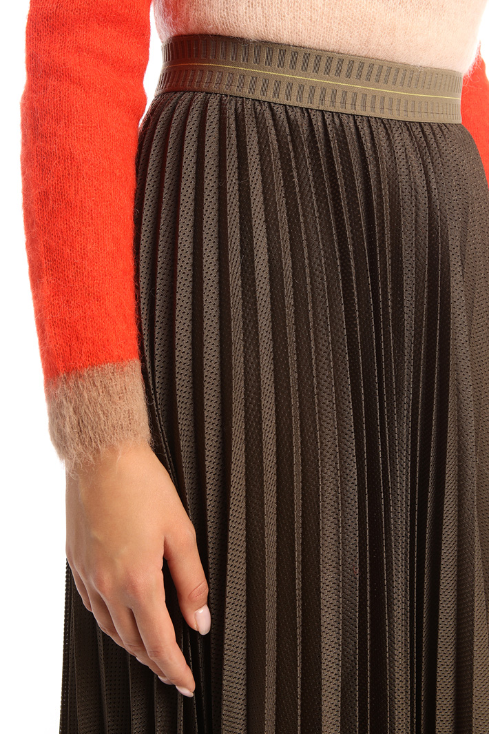 Pleated midi-skirt  Intrend