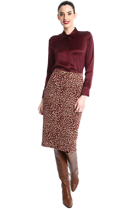 Jacquard pencil skirt Intrend