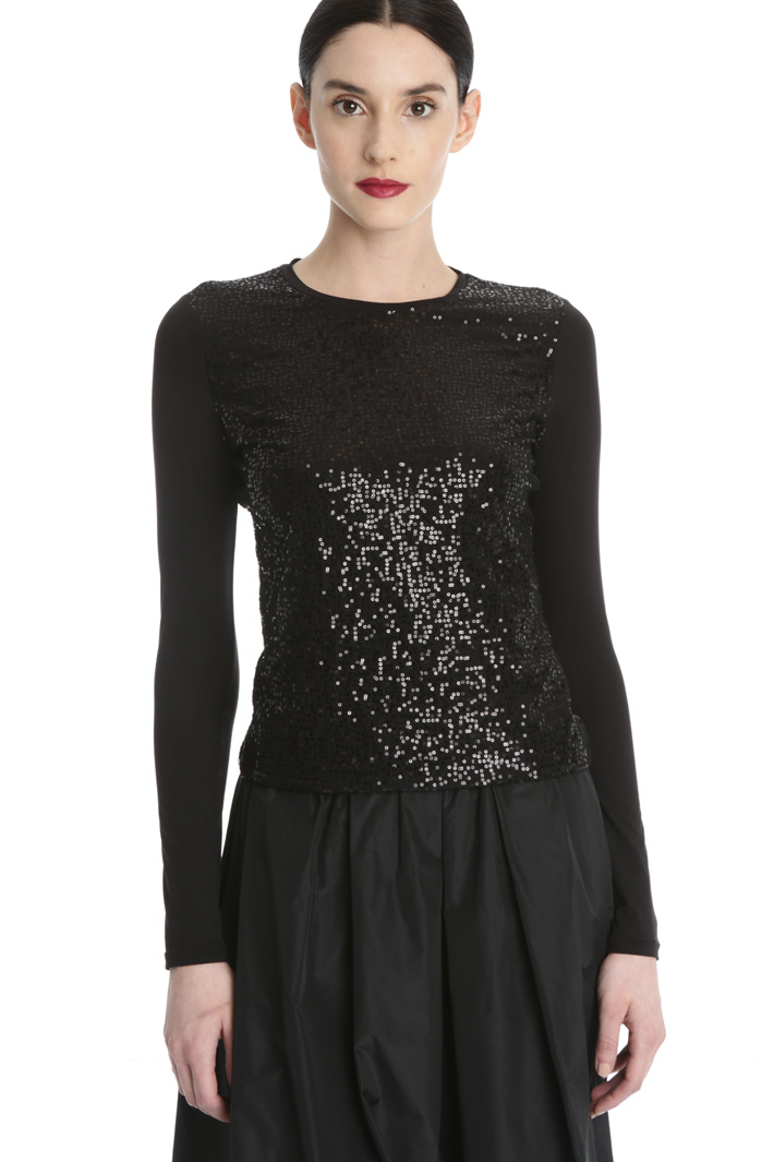 Sequin T-shirt Intrend