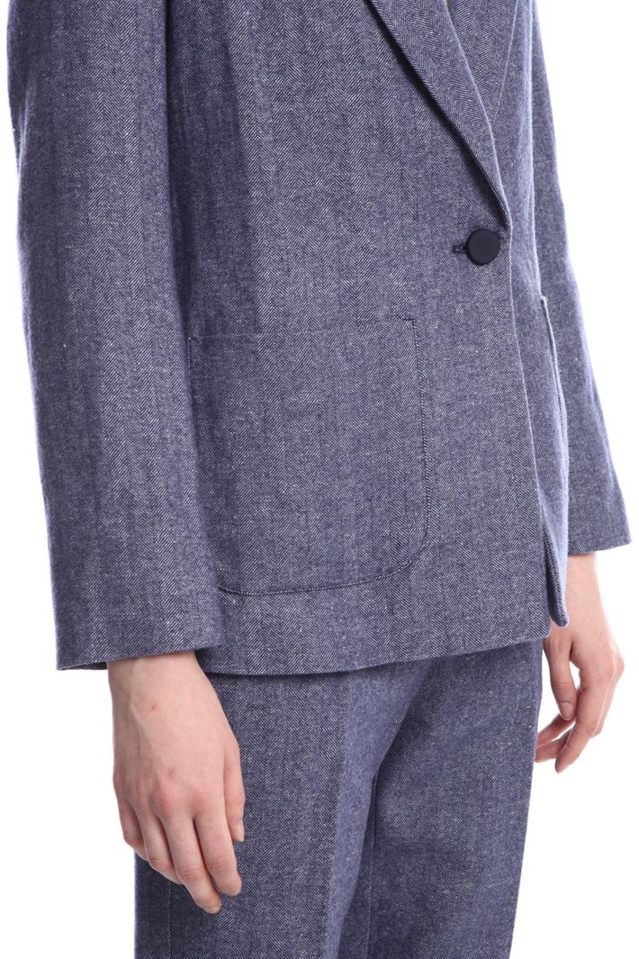 Wool chevron blazer Intrend