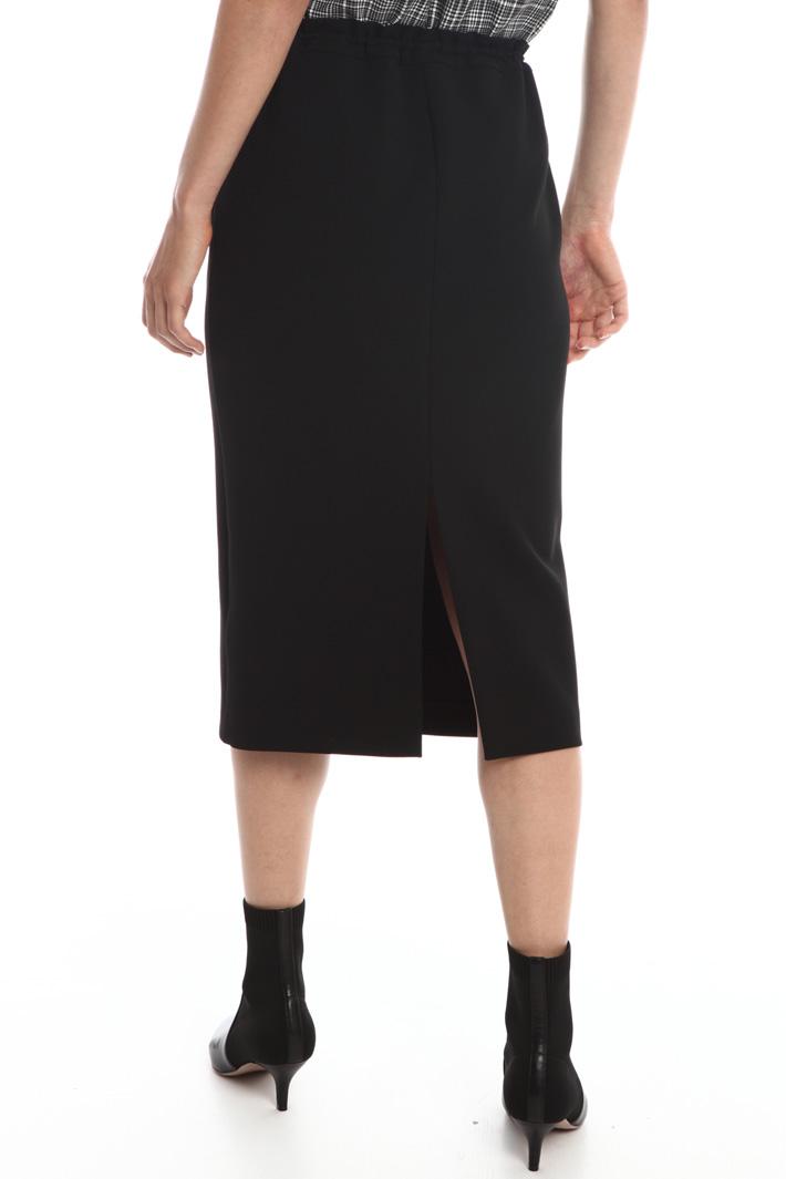 Skirt with drawstring waist Intrend