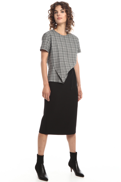 Skirt with drawstring waist Intrend