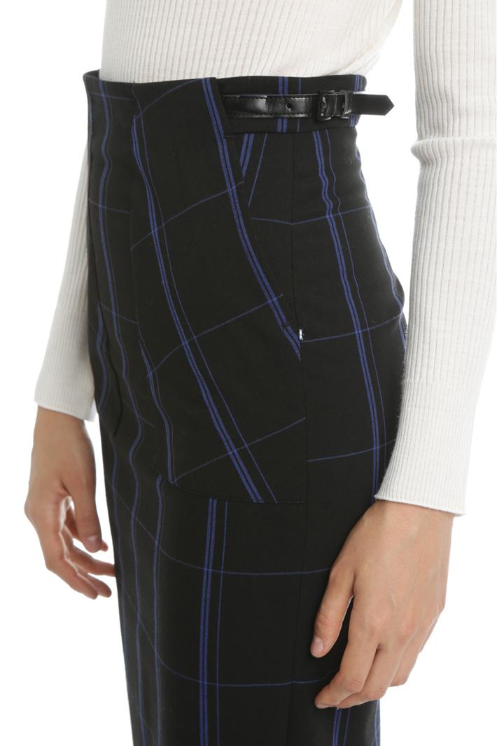 Wool blend pencil skirt Intrend