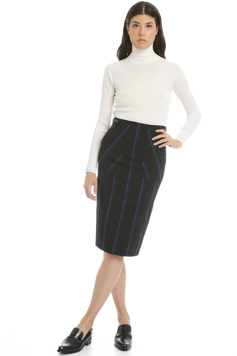 Wool blend pencil skirt Intrend