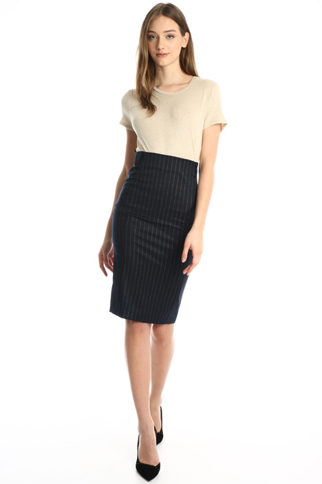 Pinstripe pencil skirt Intrend