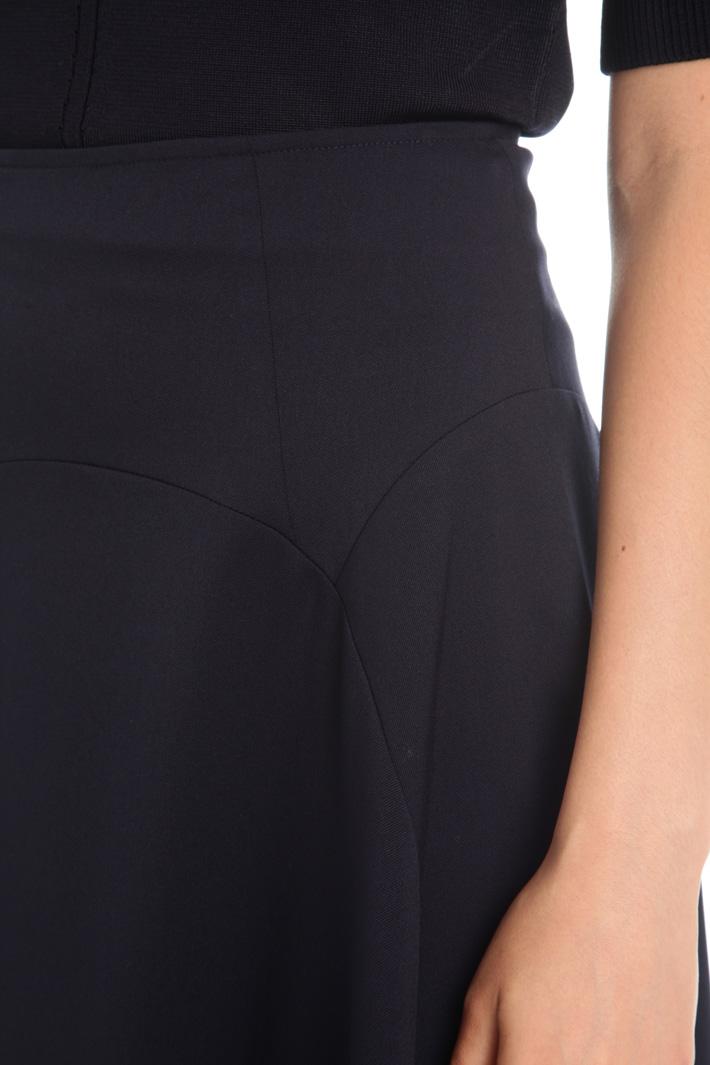 A-line fluid skirt Intrend