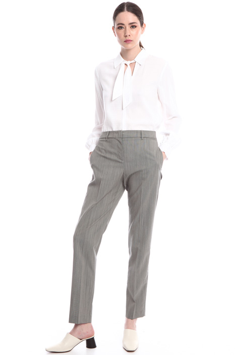 Pantaloni di lana stretch Intrend